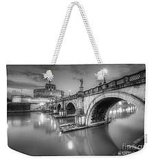 Castel Sant' Angelo Bw Weekender Tote Bag