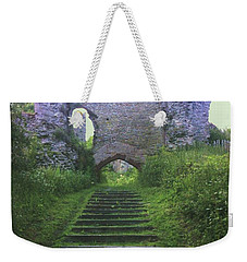 Weekender Tote Bag featuring the photograph Castle Gate by John Williams