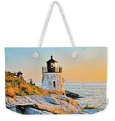 Castle Hill Lighthouse 1 Newport Weekender Tote Bag