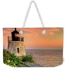 Castle Hill Lighthouse - Rhode Island Weekender Tote Bag