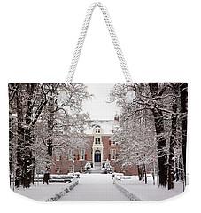 Castle In Winter Dress  Weekender Tote Bag