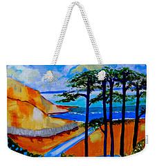 Caswell Bay Wales Weekender Tote Bag