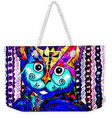 Cat 1 Weekender Tote Bag