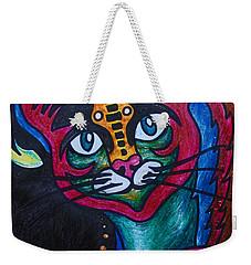 Cat 2 Weekender Tote Bag