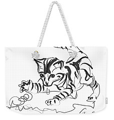 Cat- Cute Kitty  Weekender Tote Bag