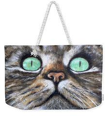 Cat Eyes Weekender Tote Bag