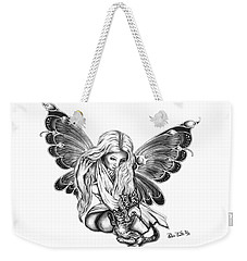Cat Fairy  Weekender Tote Bag