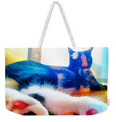 Cat Feet Weekender Tote Bag
