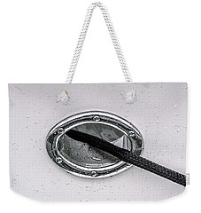 Weekender Tote Bag featuring the photograph Cat Hole And Hawser No2 by Marty Saccone
