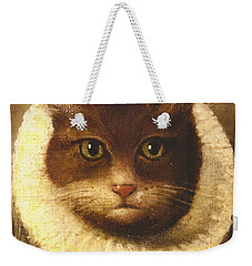 Cat In A Ruff Weekender Tote Bag