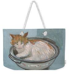 Cat In Casserole  Weekender Tote Bag