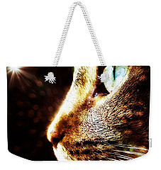 Cat Magic Weekender Tote Bag