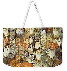 Cat Spread Weekender Tote Bag