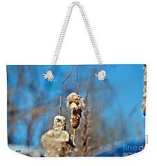 Cat Tail Weekender Tote Bag