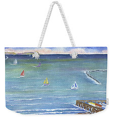 Catalina To Redondo Weekender Tote Bag by Jamie Frier