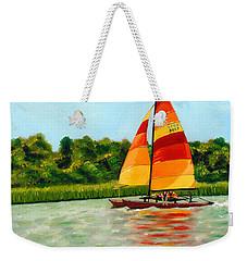 Catamaran  Weekender Tote Bag