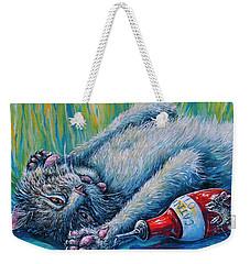 Catatonic Weekender Tote Bag by Gail Butler