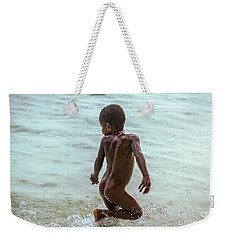 Catch Me If You Can Weekender Tote Bag by Jola Martysz