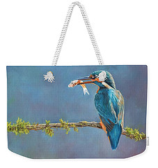 Catch Of The Day Weekender Tote Bag by David Stribbling