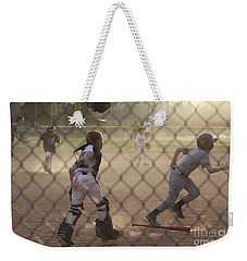 Catcher In Action Weekender Tote Bag