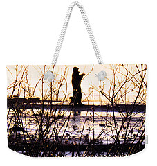 Weekender Tote Bag featuring the photograph Catching The Sunrise by Robyn King