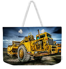 Caterpillar Cat 623f Scraper Weekender Tote Bag