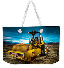 Caterpillar Cat Roller Cs563e Weekender Tote Bag
