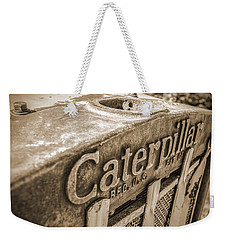 Caterpillar Vintage Weekender Tote Bag