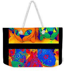 Catfish Weekender Tote Bag by Alec Drake