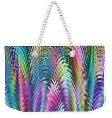 Weekender Tote Bag featuring the digital art Cathedral by Mariarosa Rockefeller