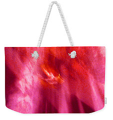 Cathedral Of Fire And Light Weekender Tote Bag by Menega Sabidussi