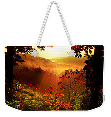 Cathedral Of Light Weekender Tote Bag