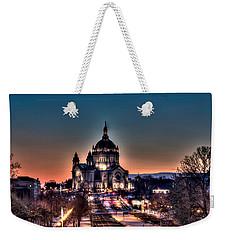 Cathedral Of Saint Paul Weekender Tote Bag by Amanda Stadther