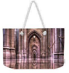 Cathedral Reflections Weekender Tote Bag by Shelley Neff