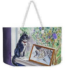 Cats And Mice Sweet Memories Weekender Tote Bag by Irina Sztukowski