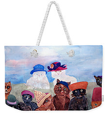 Cats In Hats Weekender Tote Bag