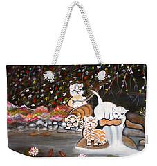 Cats In The Wild II Weekender Tote Bag