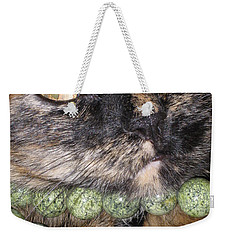 One In A Million... Beauty Of Cat's Eyes. Hello Pearl Collection Weekender Tote Bag