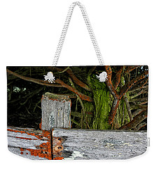 Cattle Fence Weekender Tote Bag