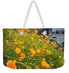 Cattle Point Poppies Weekender Tote Bag