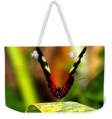 Cattleheart Butterfly  Weekender Tote Bag by Amy McDaniel