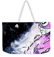 Catwoman Purple Suit Weekender Tote Bag