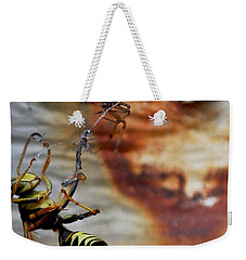 #caught Weekender Tote Bag