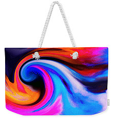 Caught Curl Weekender Tote Bag