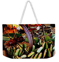 Caught In A Cactus Patch-sold Weekender Tote Bag by Antonia Citrino