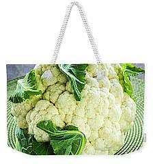 Cauliflower Weekender Tote Bag