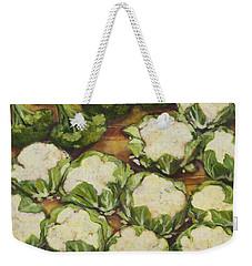 Cauliflower March Weekender Tote Bag