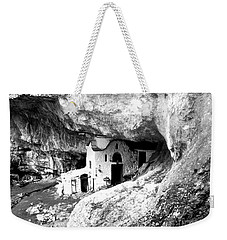 cave church on Mt Olympus Greece Weekender Tote Bag by Nina Ficur Feenan