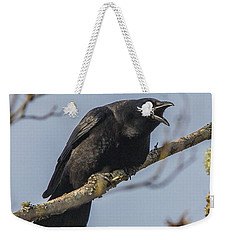 Caw Weekender Tote Bag