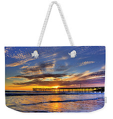Cayucos Sunset Weekender Tote Bag